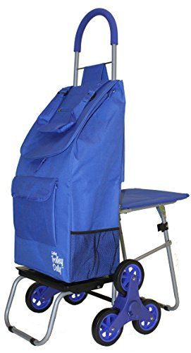 Toy Storage Ideas Stair Climber Trolley Dolly With Seat Blue Shopping Grocery Foldable Cart Tailgate See This Gr Trolley Dolly Stair Climber Trolley Bags