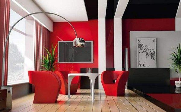 Guide déco design la couleur rouge la plus chaleureuse qui soit est aussi la plus difficile à utiliser en déco tant elle est riche et vite imposante