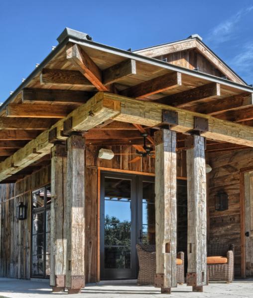 Styl rustykalny na zewnątrz/Exterior rustic design