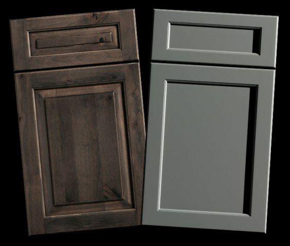 Kitchen Cabinet Door Styles Options: Mixing Up Door Styles (part 1)