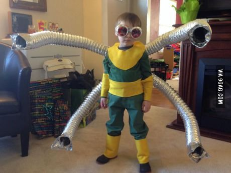 Awesome Doc Ock Costume Geekd Octopus Costume Costumes Funny