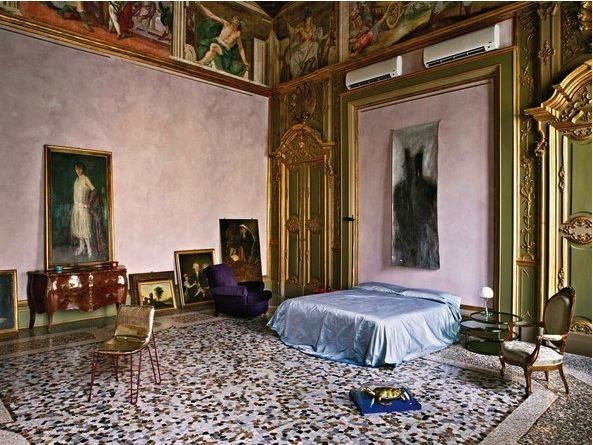 After Standing Empty For At Least 50 Years Giorgio Armani Used This  17th Century Apartment