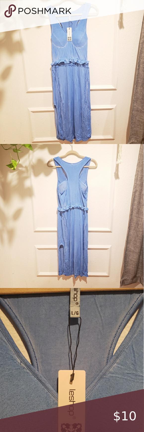 Leshop Dress New With Tags Very Light Stretchy Summer Dress Leshop Dresses Vintage Shirt Dress Dress Size Chart Women Coral Maxi Dresses [ 1740 x 580 Pixel ]