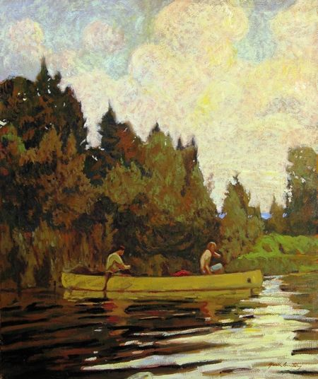 Garth Armstrong - Afternoon Lower Buckhorn Lake 30 x 36