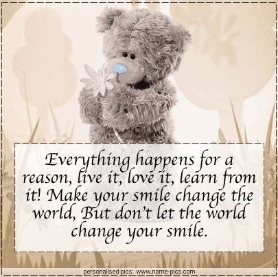 Cute quotes | Teddy bear quotes, Teddy bear pictures, Tatty ...