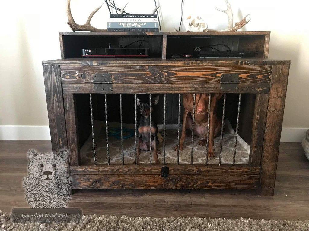 La Credenza Facebook : Dog kennel entertainment center credenza https: www.facebook.com