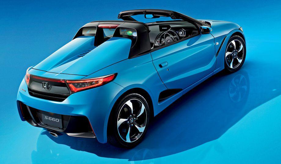 Компания Honda распродала весь тираж родстера S660 Kei car