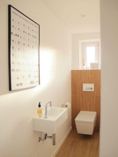 Gaste Wc Statt Holz Fliesen Gaste Wc Rund Ums Haus Badezimmer