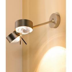 Top Light Wandleuchte Puk Wing Twin, Nickel-matt, 40cm Puk Nickel-matt, 40,00 cm 2-09403 Top LightTo #lightbedroom