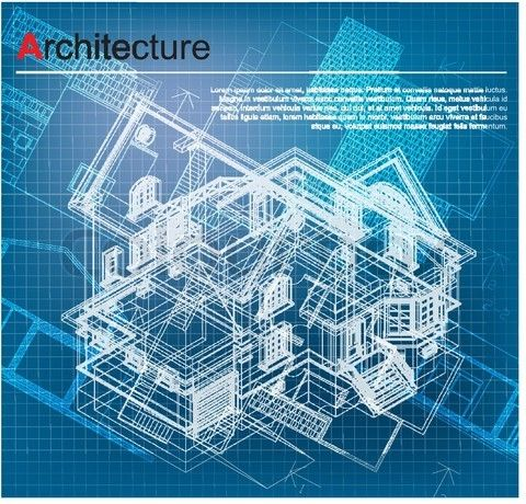 Stock vector of urban blueprint vector architectural background stock vector of urban blueprint vector architectural background part of architectural malvernweather Images