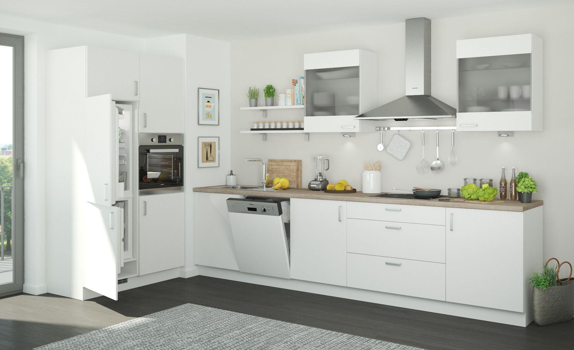Kuchenzeile Ohne Elektrogerate Frankfurt Gefunden Bei Mobel Hoffner Kuche Block Kuchenzeilen Kuche