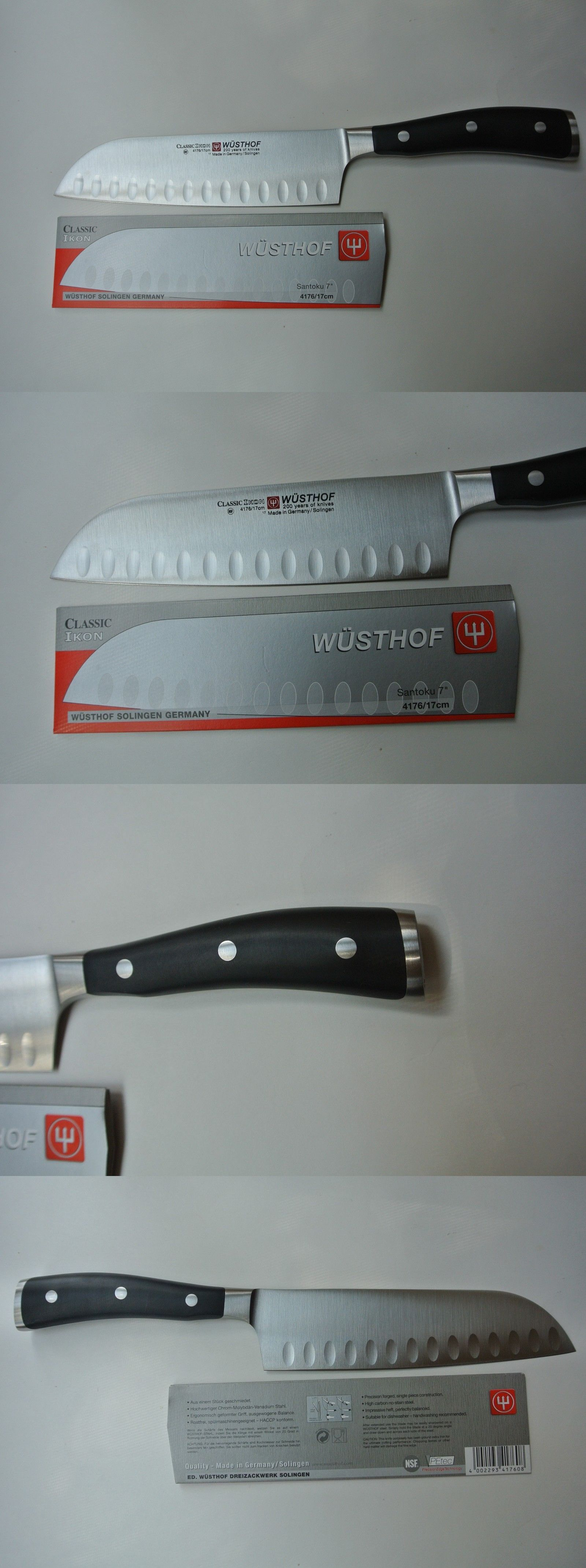 Kitchen and steak knives new wusthof classic ikon inch