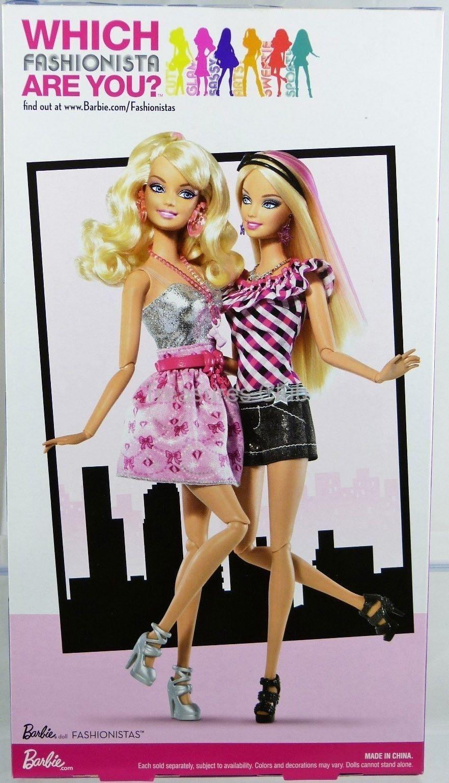 Barbie fashionistas sassy shops for makeup doll 58