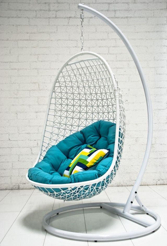 Fauteuil de jardin suspendu en 55 idées de meubles design | Déco ...