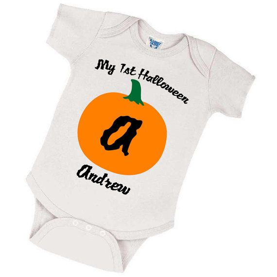 b47ab0b67 Baby First Halloween Onesie Costume Customized With by TeeHabit, $14.99
