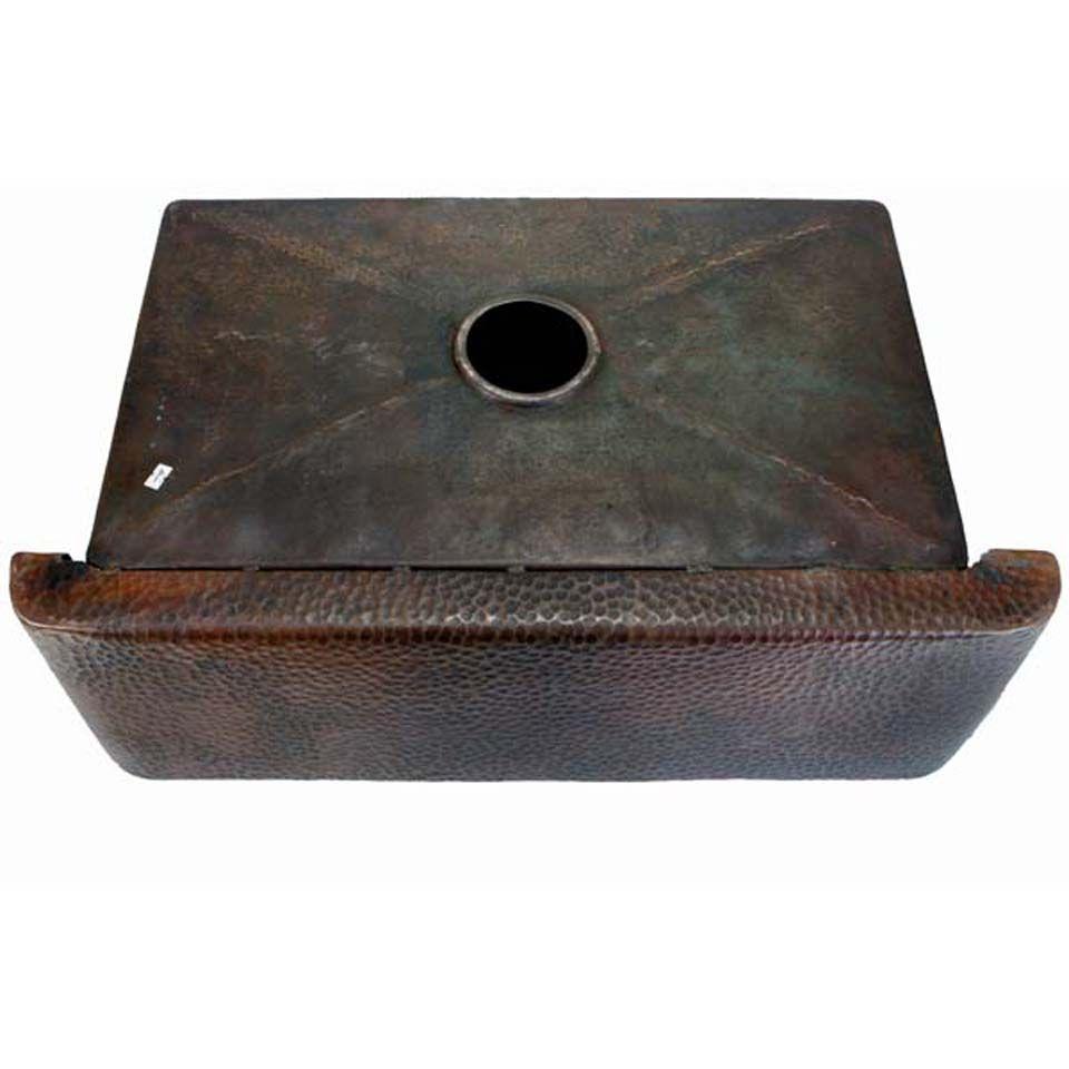 Picture of 36 copper farmhouse sink fernanda single