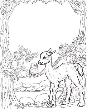 Is Your Mama A Llama Coloring Page Super Coloring Animal