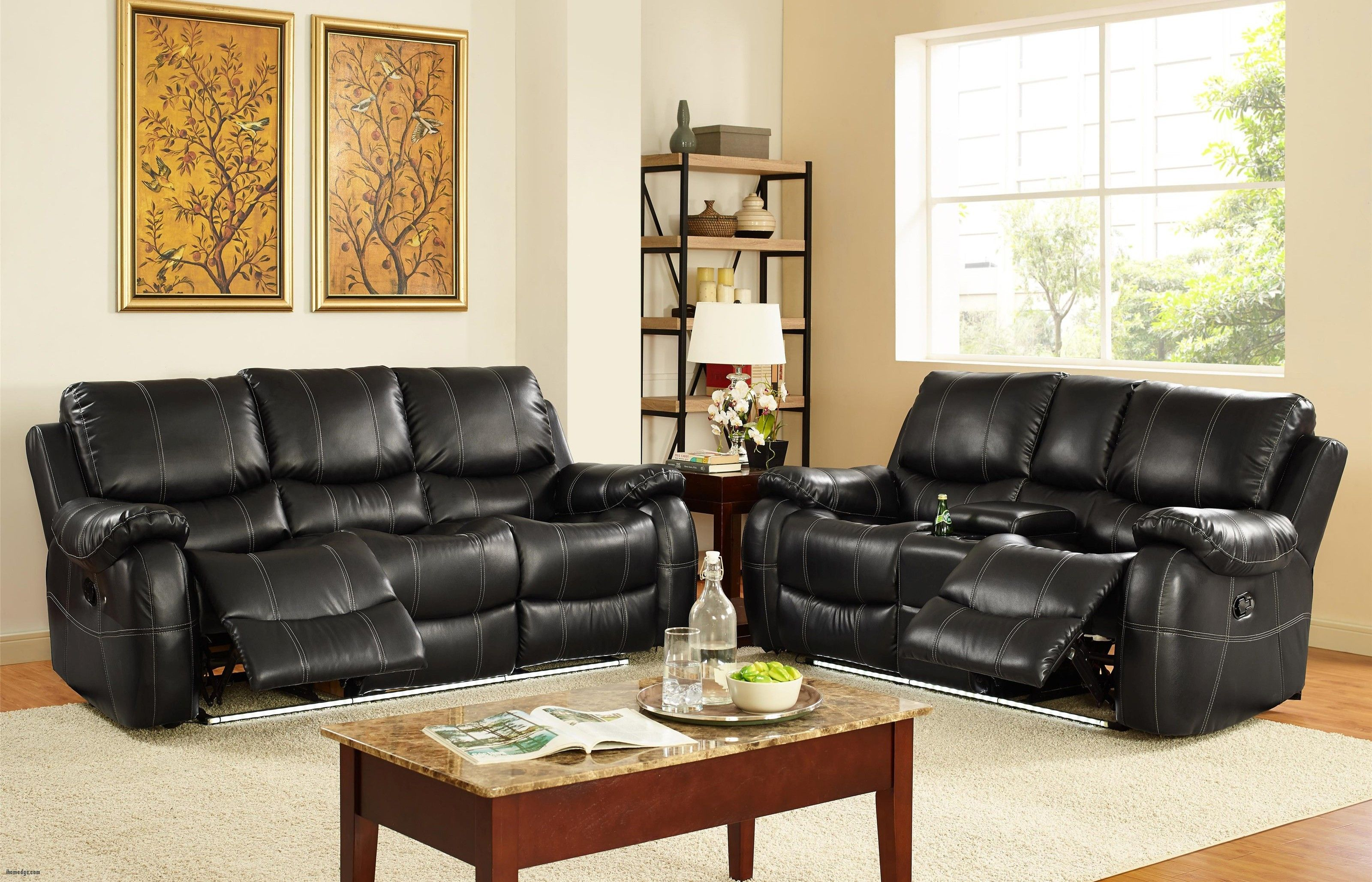 Best Awesome Couch And Recliner Set , Lynx Collection 2 Piece Living Room  Recliner Sofa Set