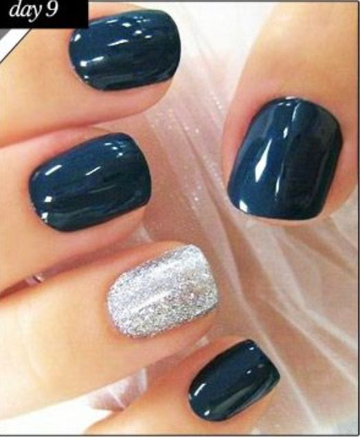 Xmas Nail Colours: Love This Color Combination!!! I Am Doing This Sometime