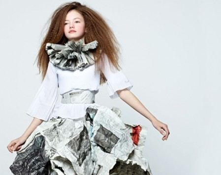 Mackenzie Foy by Dani Brubaker for L'Officiel Enfant