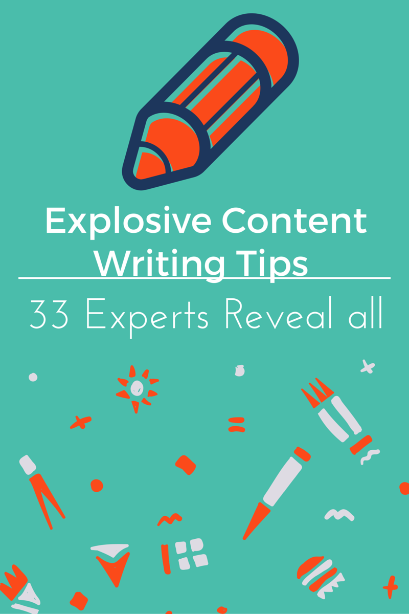 33 Experts Lined of to reveal their best technique for writing stellar content. Check it out, you won't regret it.