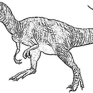 Allosaurus, Vicious Allosaurus Coloring Page: Vicious Allosaurus ...