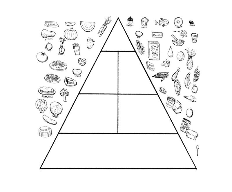 Coloring Page For Kids Gesunde ernährung Ernährung