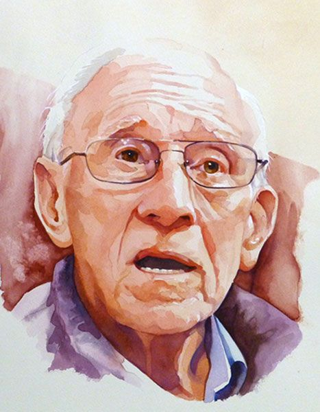 Watercolor Portraits Pesquisa Google Watercolor Portraits