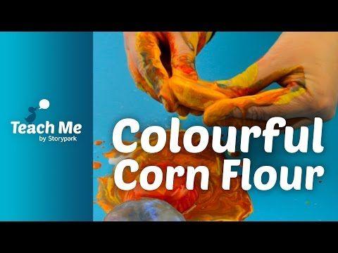 Teach Me: Colourful Corn Flour - YouTube