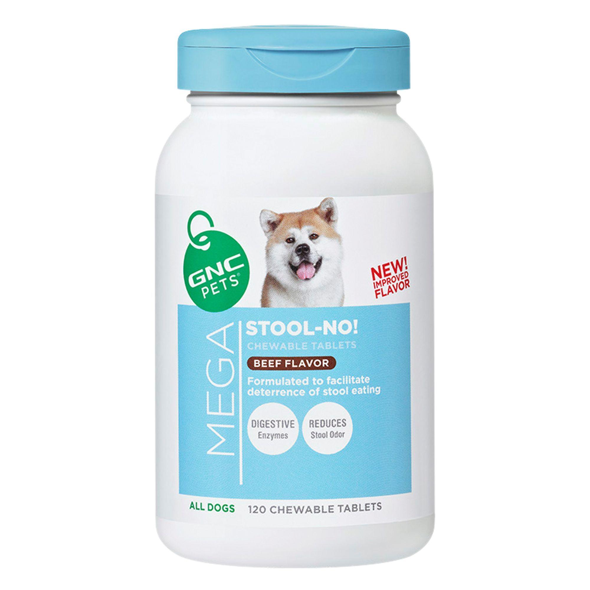 Gnc Pets Mega Stool No Dog Coprophagia Formula Pets Pet Supplements Fish Oil
