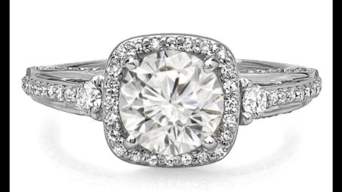 KS595 wedding ring