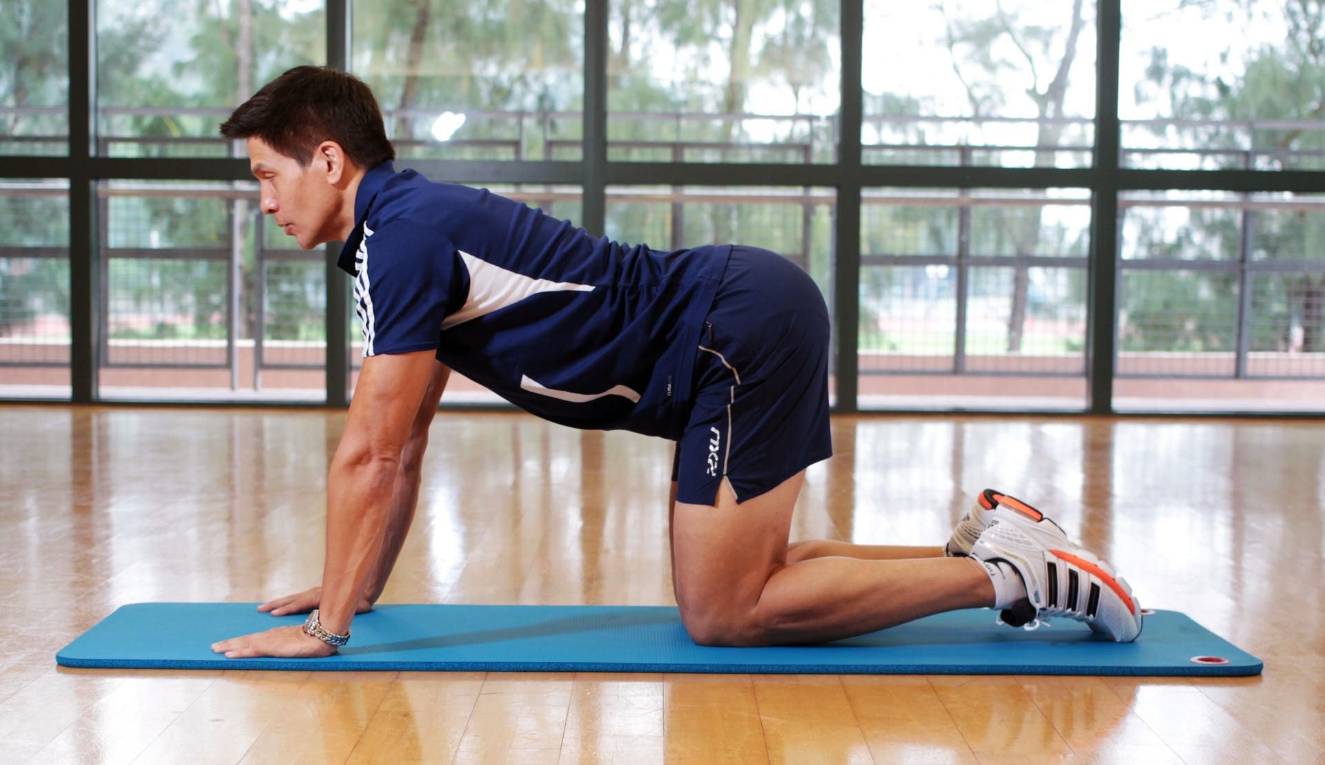 Strengthening your core back and abdominal muscles will