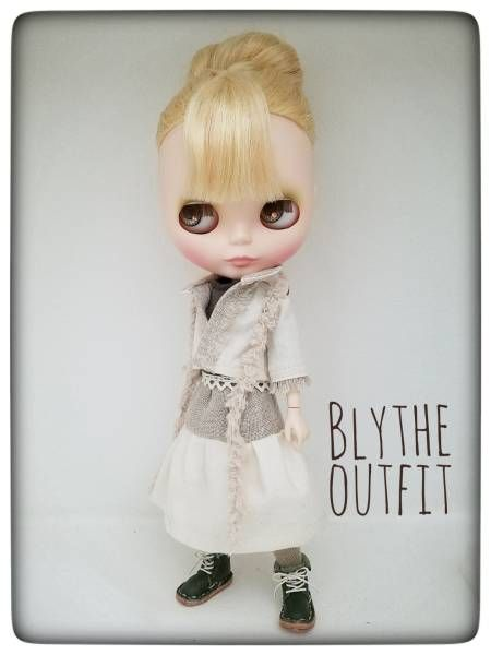 -Blythe outfit c4 ブライスのお洋服 07-_画像1