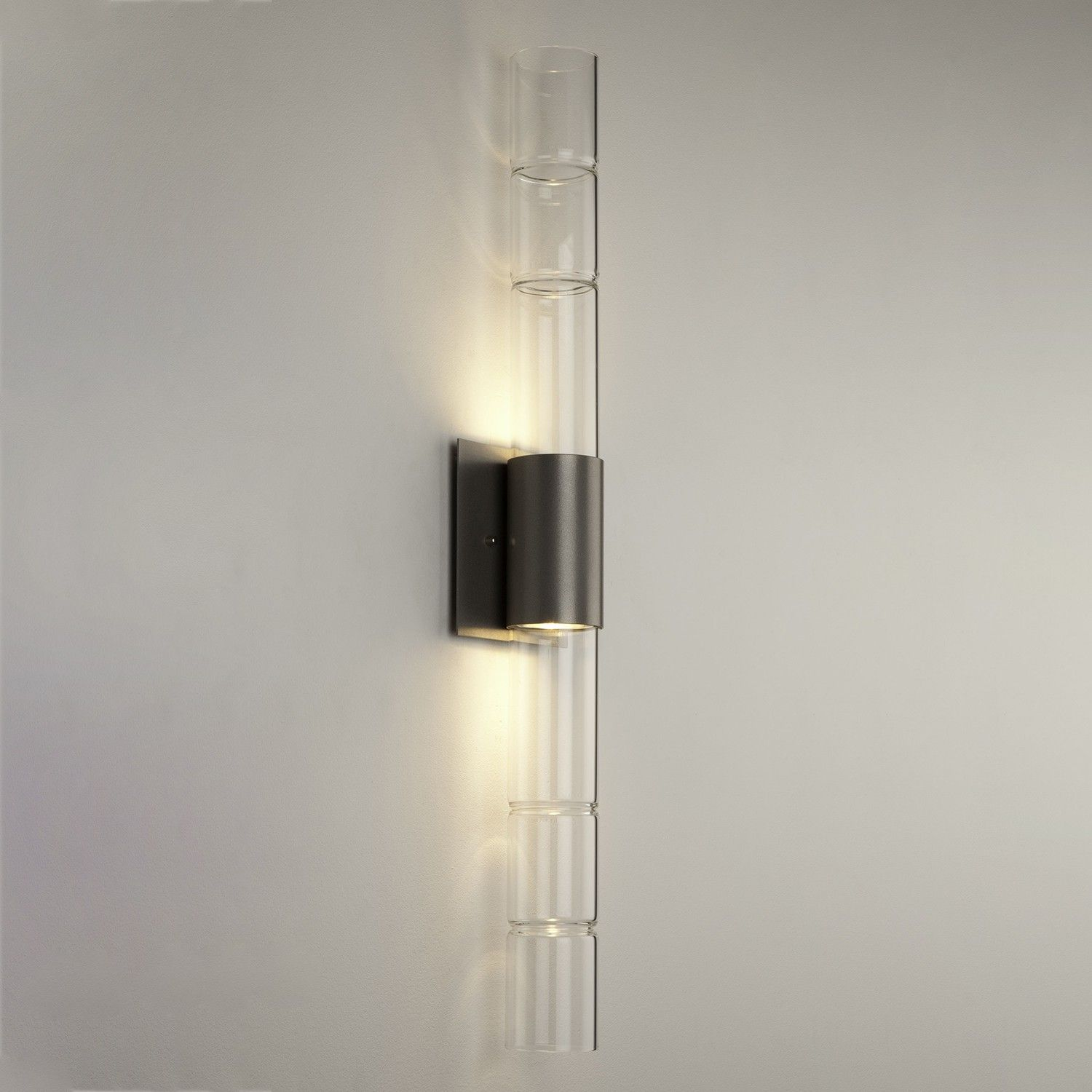 Bamboo Double Wall Sconce Wall Sconces Walls And Bathroom Light Bar - Double wall sconce bathroom