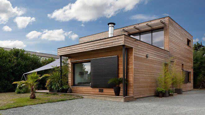 Maisons Durables  une maison bois de constructeur, mais