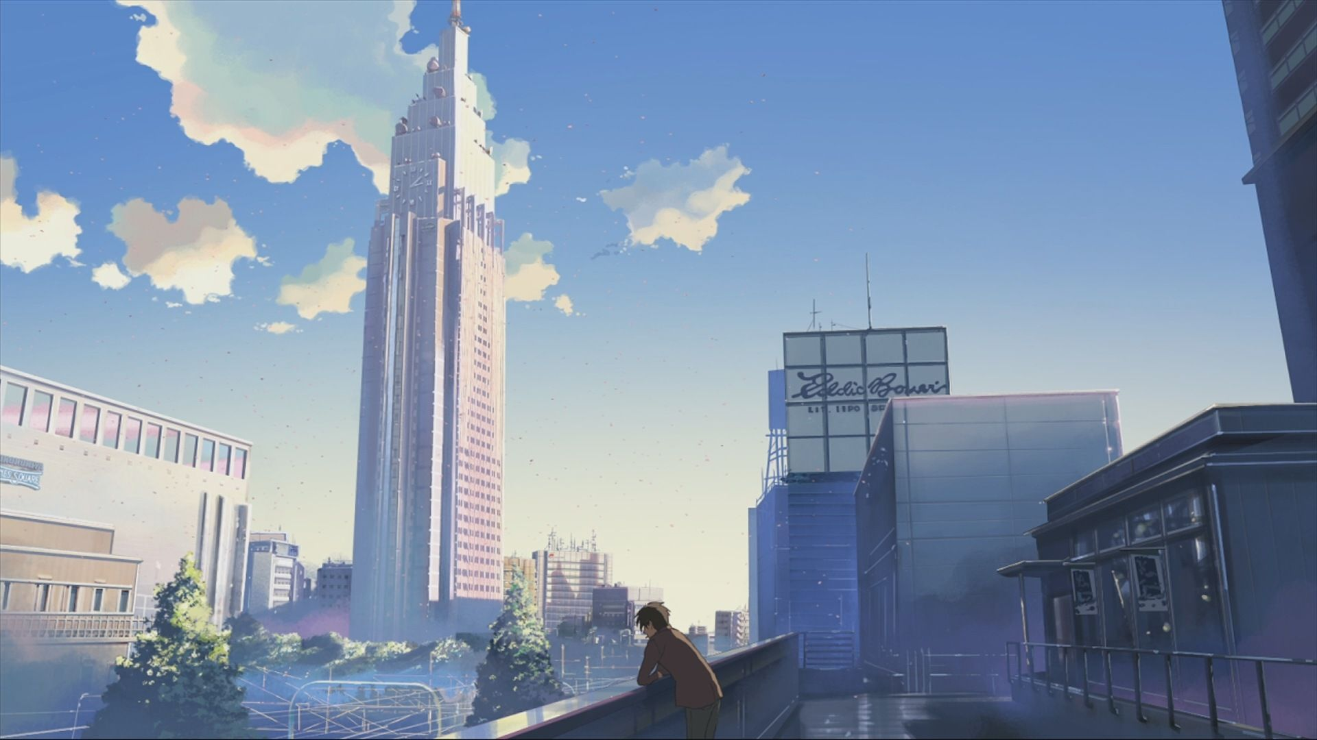 Low Detail City Aesthetic Anime Anime Scenery Anime Wallpaper 1920x1080