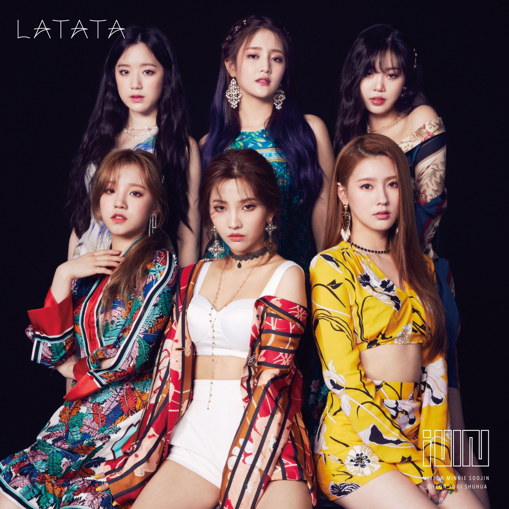 Latata Japanese Version 7 31 19 Latata Idle Gidle Kpop Yuqi Soyeon Shuhua Soojin Minnie Miyeon Kpop Girls Kpop Girl Groups Kpop