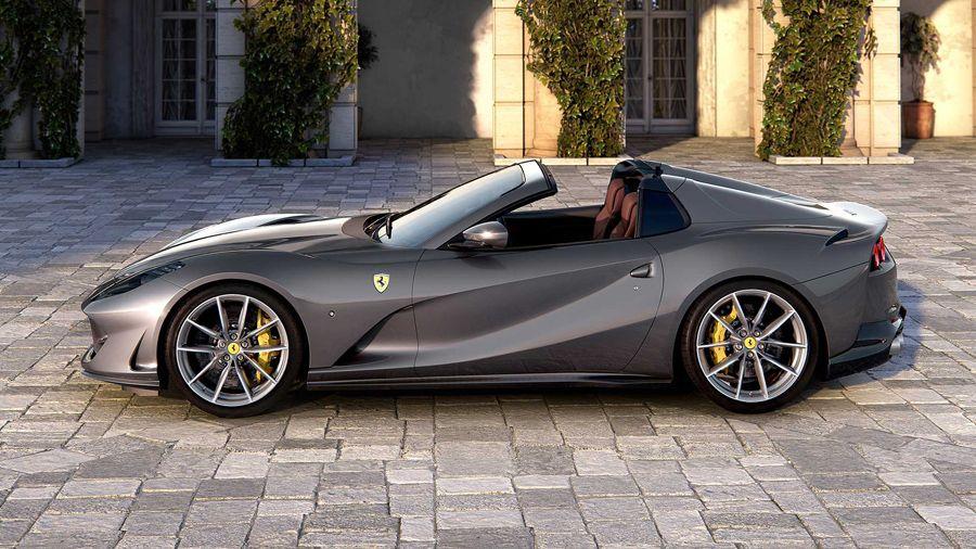2020 Ferrari 812 Gts The Most Powerful Production Convertible In 2020 Ferrari Convertible Ferrari Car Ferrari Laferrari