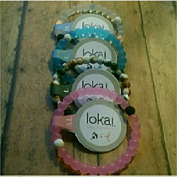 lokai bracelets 4 colors & 4sizes to choose from lokai bracelets 4 colors & 4sizes to choose from brand new. Always ship same day of purchase. Jewelry Bracelets