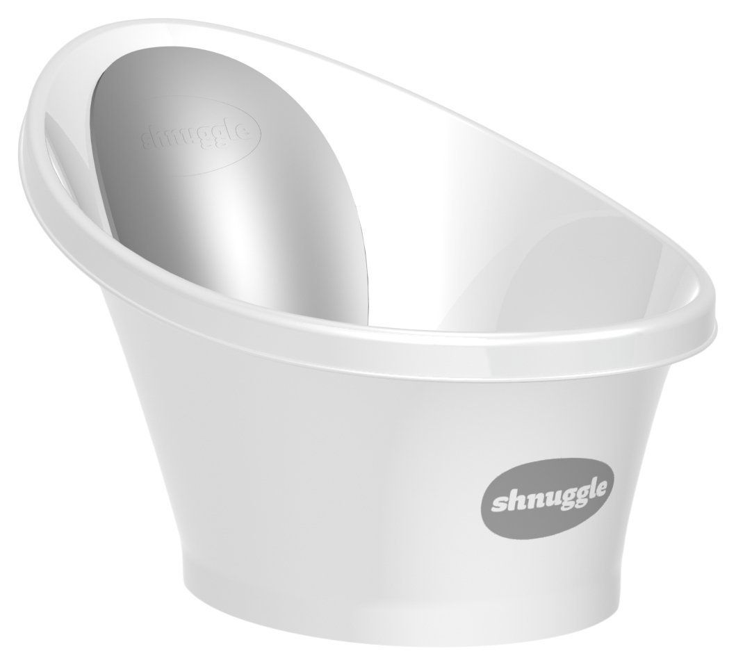 Amazon.com : Shnuggle Baby Bath Tub - Compact Support Seat, Makes ...