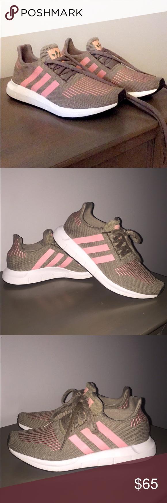 adidas swift run le scarpe adidas, verde militare e adidas