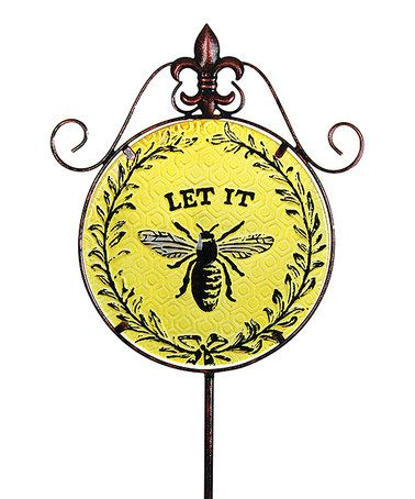 Loving This U0027Let It Beeu0027 Garden Stake On #zulily! #zulilyfinds