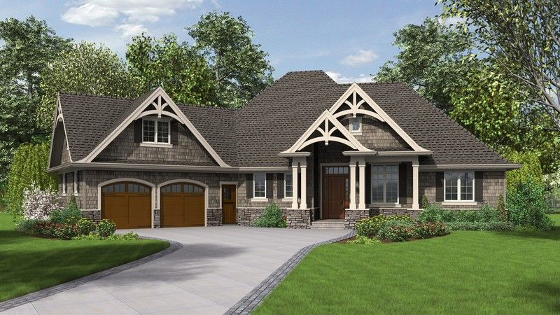 craftsman plan with 2233 square feet and 3 bedrooms from dream home source - Patio Style Dream Home Plans