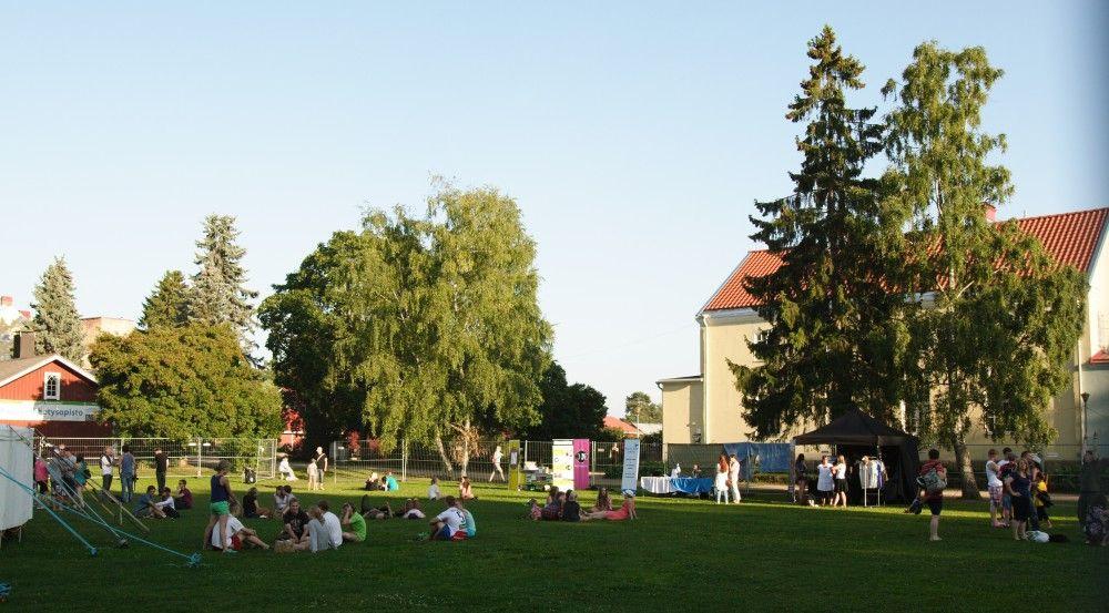 Lähetyskeskus tarjoaa mahtavat puitteet hengellisille kesäjuhlille.  Kuva: Sami Valkonen