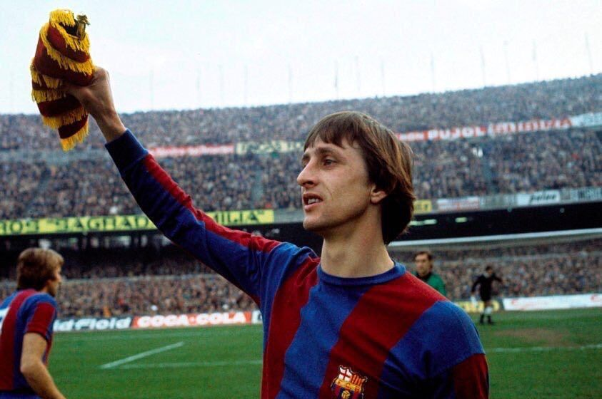 Gràcies per tot Johan Cruyff  Damn that was unexpected  Thank for everything thx for making Barça that what they are today #RIPJohan  by messi_neymar_suarez