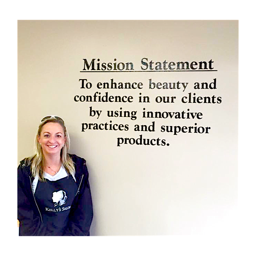 Kelly 39 s salon and day spa mission statement to enhance for A mission statement for a beauty salon
