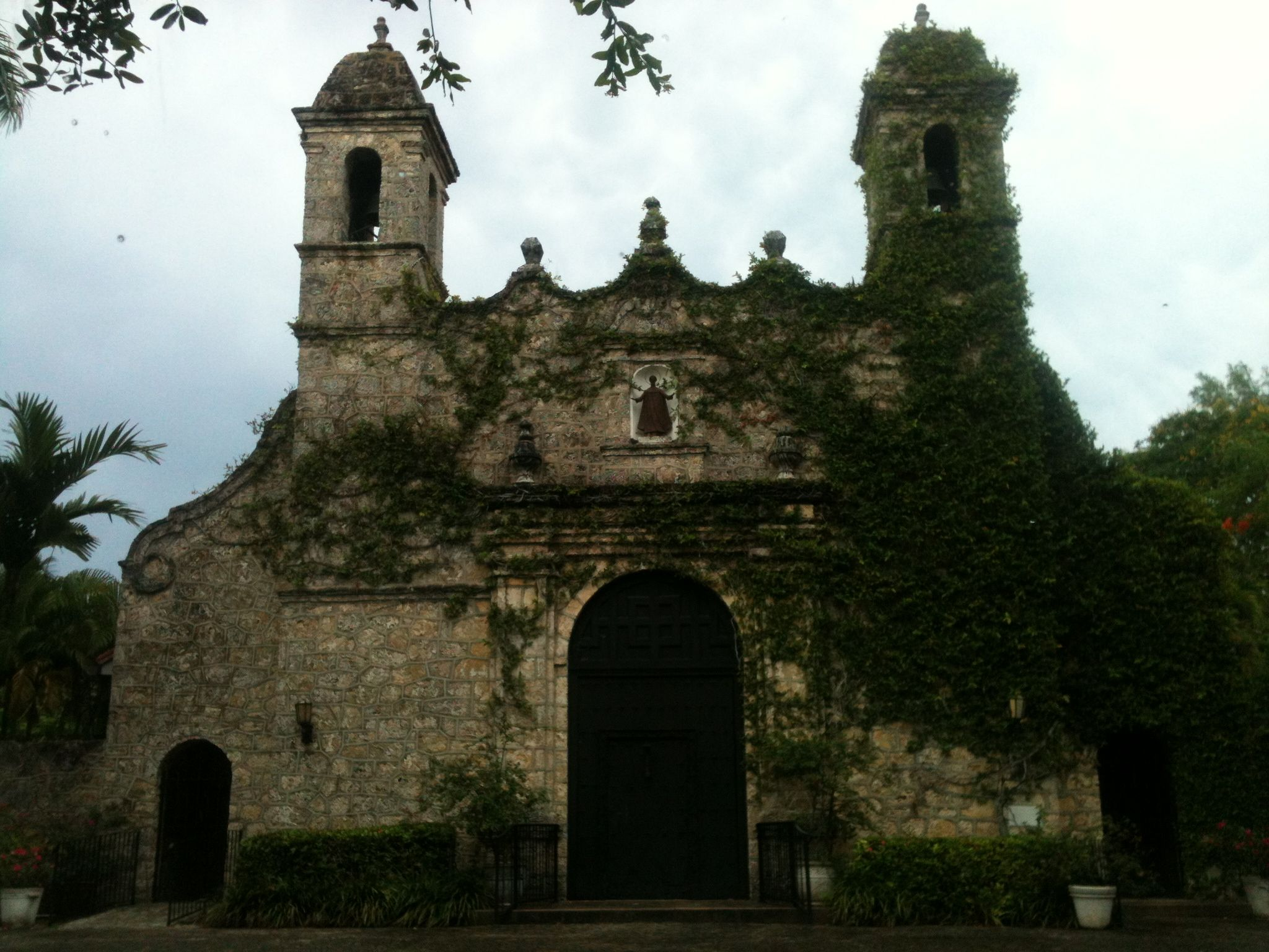 The spooky church  Made of coral rock