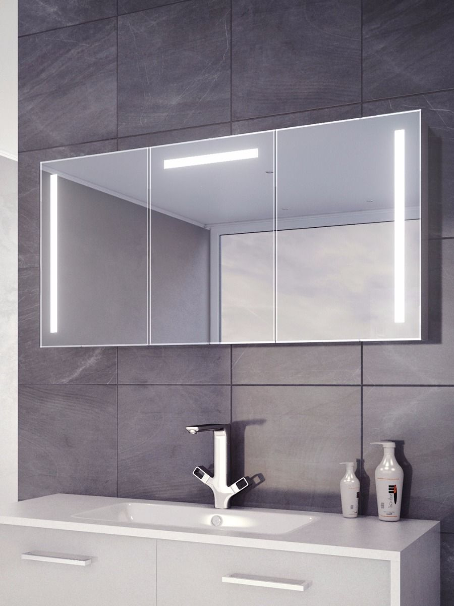 Cali Led Demister Cabinet Mirror Cabinets Cabinet Aurora Led