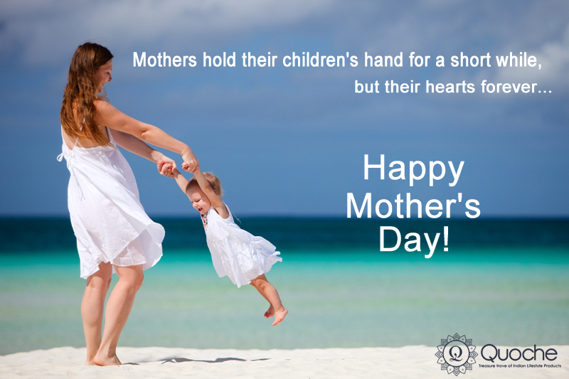 """""""A Mother understands what a Child does not Say"""" If you are still looking for some ideas for this weekend to honor your mom then find something special at #Quoche. Gift ideas that will make your mom smile. #MothersDay Surprise"""