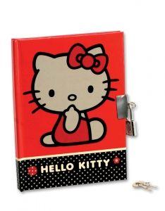 Hello Kitty Mini-Diario Con Llave,Papeleria Disney,Regalo niños,Detalle Boda,Regalo infantil,Niños,Regalo Invitado #Grandetalles
